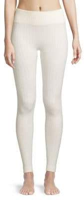 Hue Arrow Cable Brushed Seamless Leggings