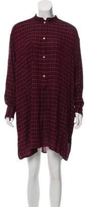 Etoile Isabel Marant Flannel Mini Dress