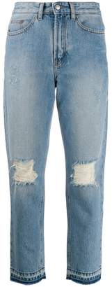 Zadig & Voltaire Zadig&Voltaire distressed straight jeans