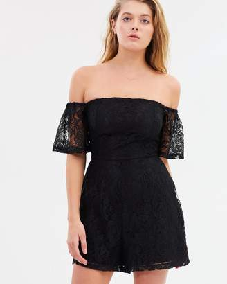 Sass Backing a Winner Lace Playsuit