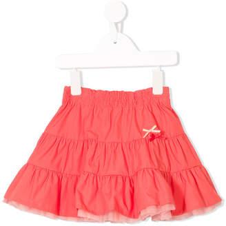 Familiar elasticated waist tulle skirt