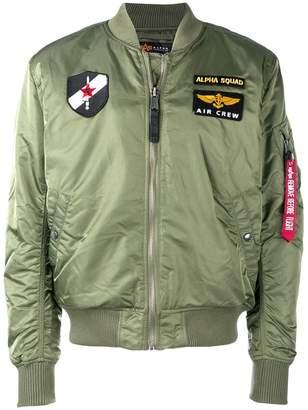 Alpha Industries loose bomber jacket