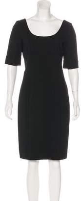 Diane von Furstenberg Brianne Bodycon Midi Dress