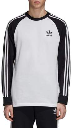 adidas 3-Stripes Long Sleeve T-Shirt