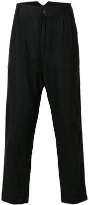 Barbara I Gongini drop-crotch trousers