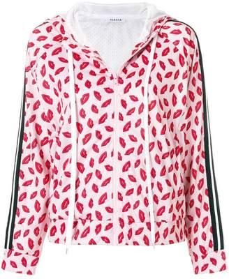 P.A.R.O.S.H. lip print hoodie