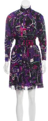 Vivienne Tam Printed Mini Dress