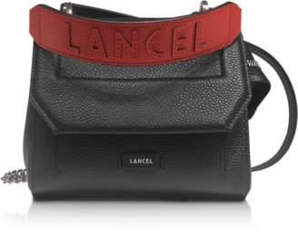 Lancel Ninon Round Leather Small Flap Bag