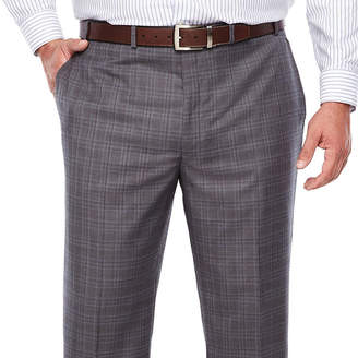 COLLECTION Collection by Michael Strahan Plaid Classic Fit Suit Pants - Big and Tall