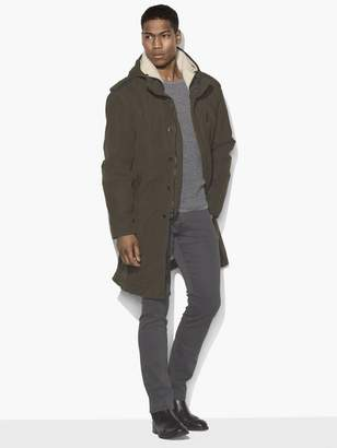 John Varvatos Military Parka