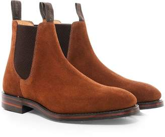 Loake 1880 Men's Suede Chatsworth Chelsea Boots