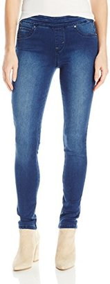 Kensie Jeans Women's Pull on Jegging Jean Brushed Twill $58 thestylecure.com
