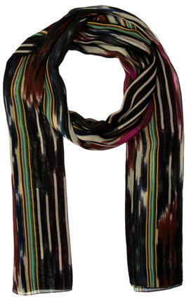 Thakoon Multicolor Striped Scarf