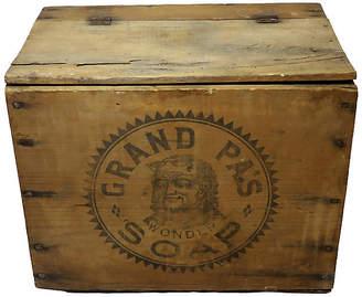 One Kings Lane Vintage Antique Grand Pa's Soap Shipping Box