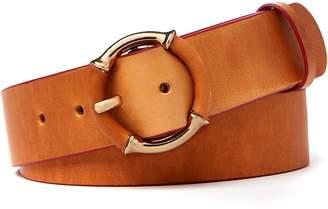 J.Mclaughlin Ida Bamboo Buckle Leather Belt