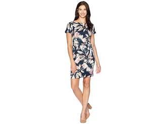 London Times Gusset w/ Drop Shoulder Sleeve Dress Women's Dress
