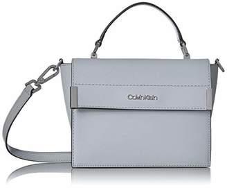 674a89e8f29 Calvin Klein Raelynn Saffiano Top Handle Flap Crossbody