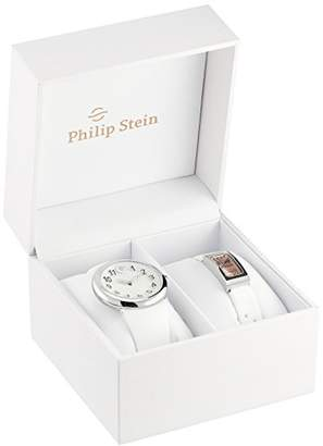 Philip Stein Teslar Unisex PS-DAYNIGHT4 Stainless Steel Watch Set