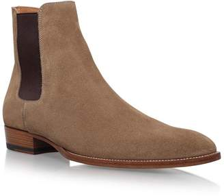 Saint Laurent Classic Wyatt Chelsea Boots 30
