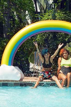 Urban Outfitters Rainbow Pool Float