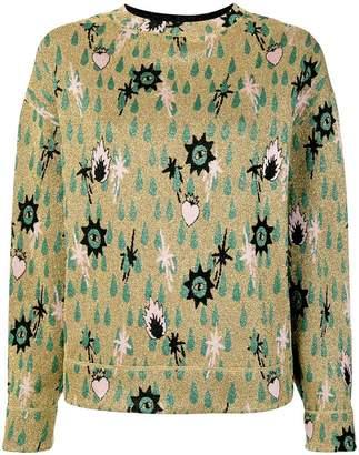 M Missoni fantasy knit jumper