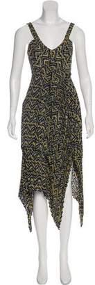 A.L.C. Silk Asymmetrical Dress