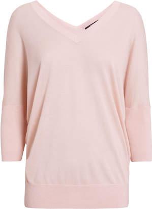 Derek Lam Ezme Pink Batwing Sweater