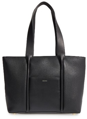 Skagen Lisabet Leather Tote - Black $295 thestylecure.com