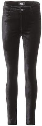 Paige Hoxton velvet skinny trousers