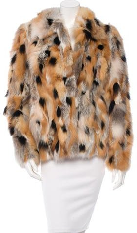 Gucci Fox Fur Coat w/ Tags