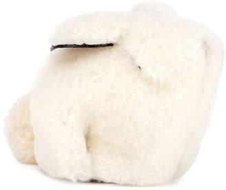 Loewe Shearling Fur Bunny Coin Purse