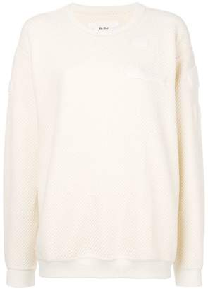 Julien David textured sweatshirt