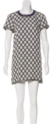 Isabel Marant Short Sleeve Mini Dress