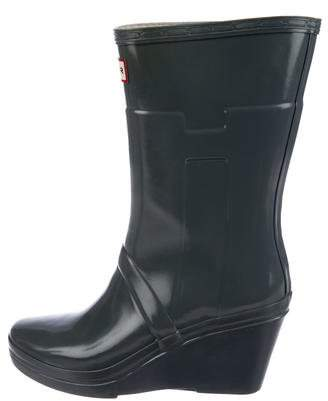Hunter Wedge Rain Boots