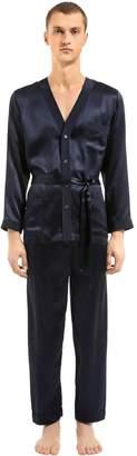 Silk Satin Pajama Shirt & Pants