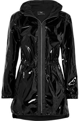 Heroine Sport - Hooded Vinyl Jacket - Black