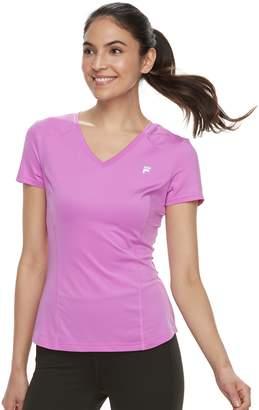 Fila Sport Women's SPORT UPF Short Sleeve V-Neck Tee