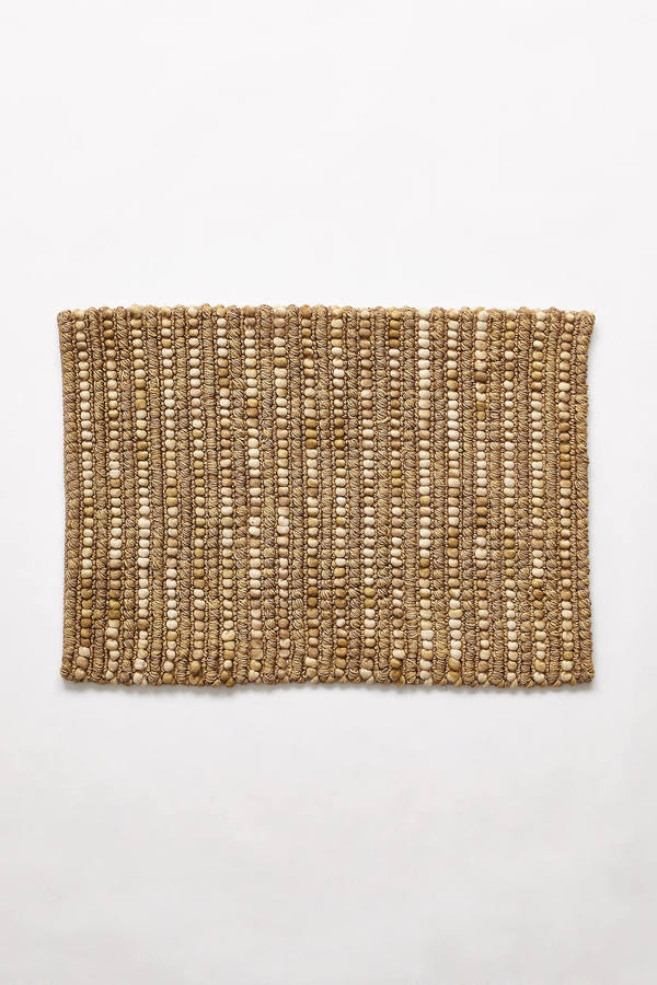 Anthropologie Anthropologie Handwoven Jute Rug