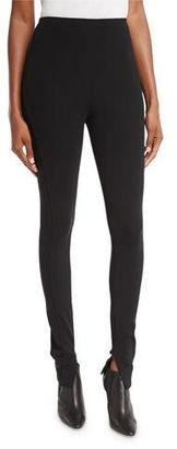 Ralph Lauren Collection Leland High-Rise Leggings, Black $790 thestylecure.com