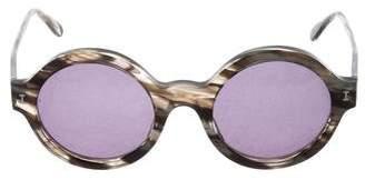 Illesteva Tinted Tortoise Sunglasses