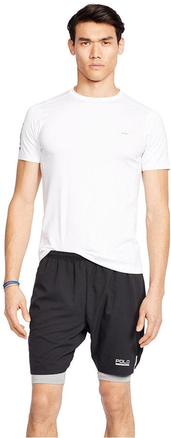 Polo Sport Men's Mesh-Panel Compression T-Shirt