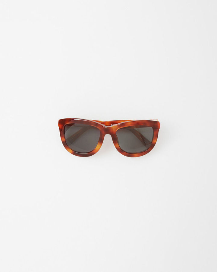 The Row Curved Square Sunglasses