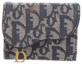 Christian Dior Christian Dior Diorissimo Compact Wallet