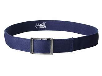 Myself Belts Easy One Handed Canvas Belt with Faux Buckle