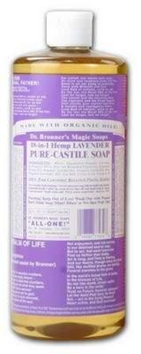 Dr. Bronner's Dr Bronners Org Lavender Castile Liquid Soap 473Ml