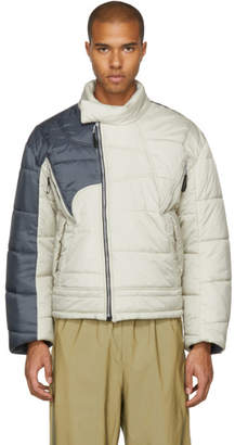 Helly Hansen GmbH Beige and Grey Edition Recycled Down Hans Jacket