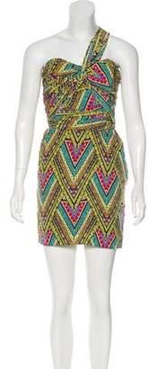 Mara Hoffman Silk One-Shoulder Dress