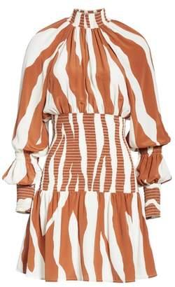 Cienne The Rio Print Silk Dress