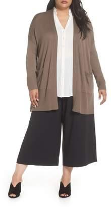 Sejour Slouchy Cardigan (Plus Size)