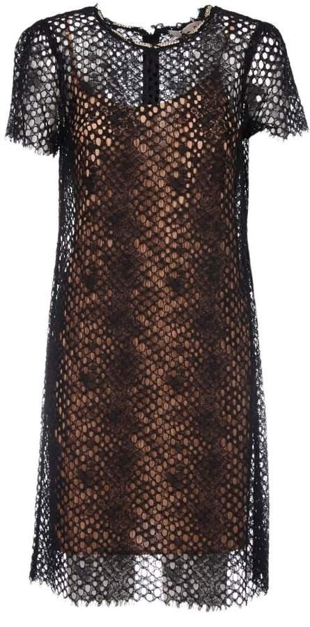 Michael Kors Embellished Lace Dress